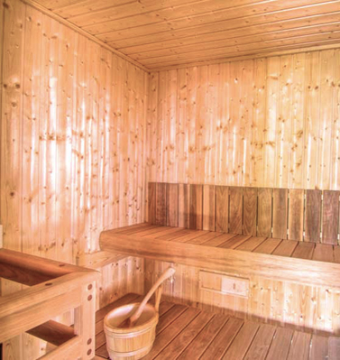 Holiday Village in Crete Bali - Stone Village - Hamam Sauna Jacuzzi