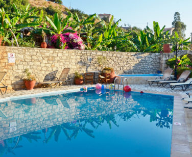 Holiday Village in Crete Bali - Stone Village - Large Swimming Pool & Children's Pool