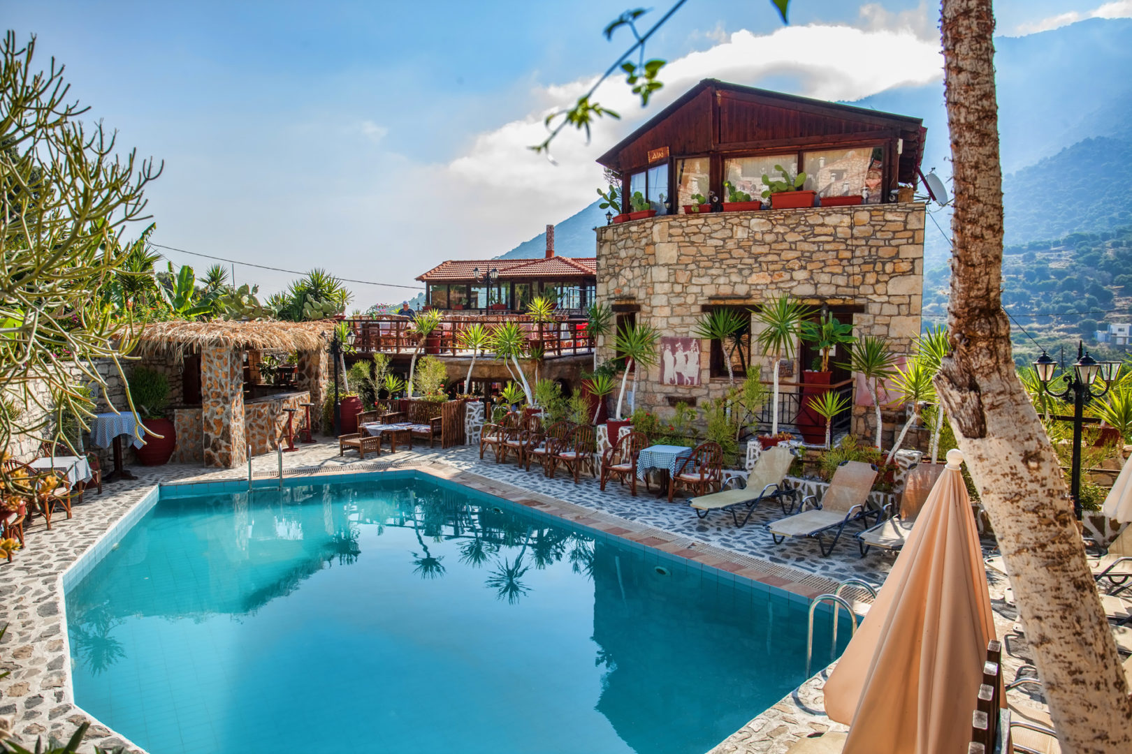 Hotel in Bali Crete - Stone Village - Large Pool 3