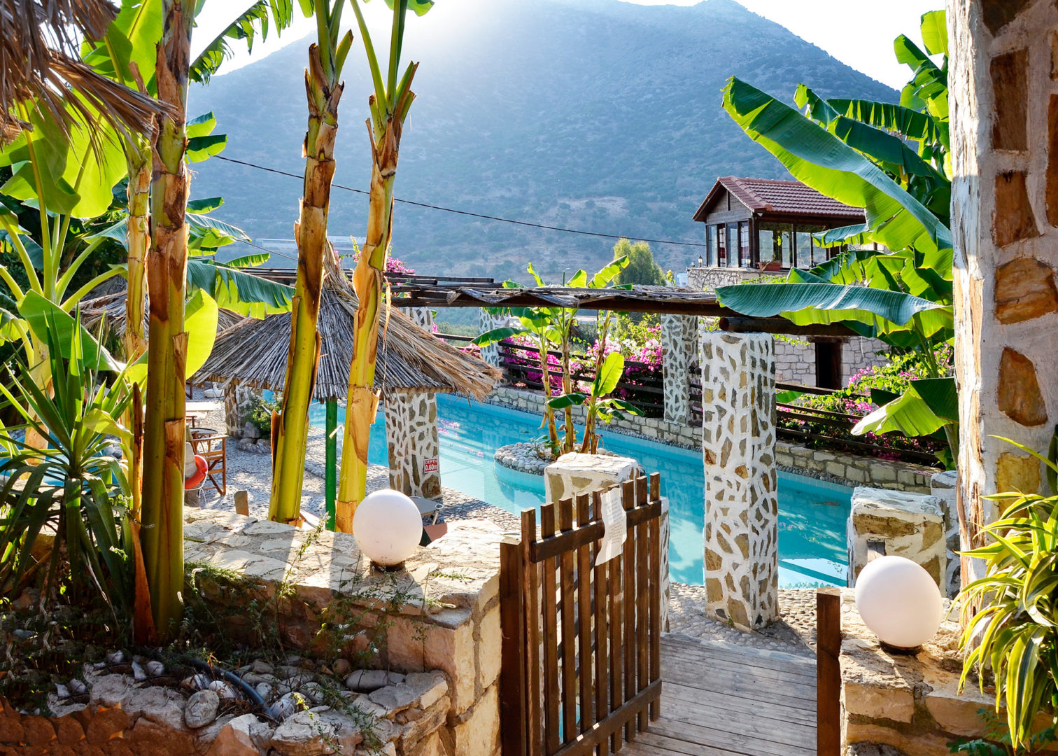Hotel in Bali Crete - Stone Village - Medium Swimming Pool 7