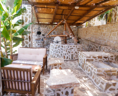 Hotel in Bali Crete - Stone Village - Outdoors Sitting Area 1
