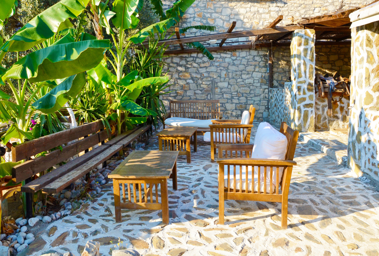 Hotel in Bali Crete - Stone Village - Outdoors Sitting Area 2