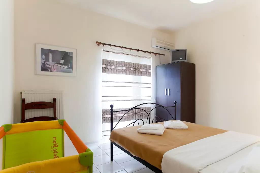 Spacious Villa in Crete Bali - Villa Klados - Bedroom 3a