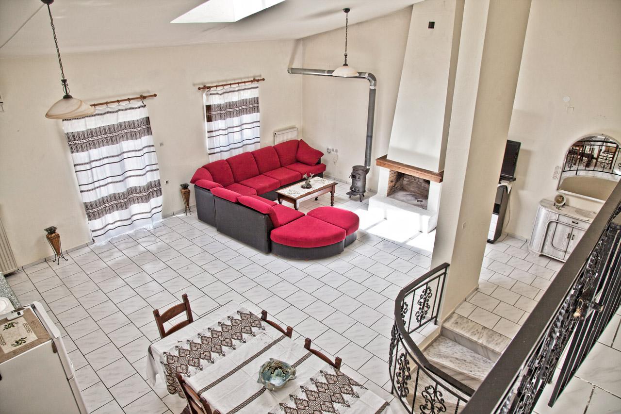 Spacious Villa in Crete Bali - Villa Klados - Living Room 1