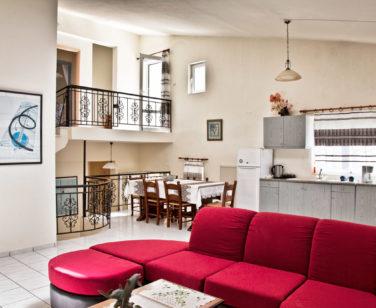 Spacious Villa in Crete Bali - Villa Klados - Living Room 2