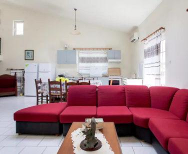 Spacious Villa in Crete Bali - Villa Klados - Living Room 3