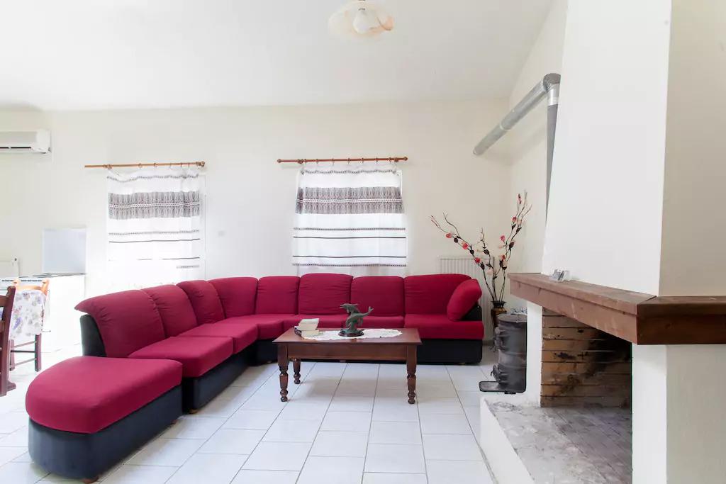 Spacious Villa in Crete Bali - Villa Klados - Living Room 4