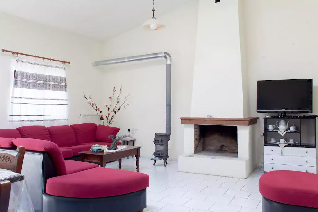 Spacious Villa in Crete Bali - Villa Klados - Living Room 5
