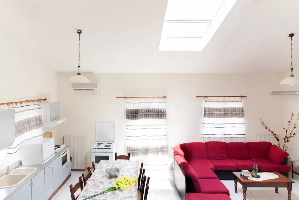 Spacious Villa in Crete Bali - Villa Klados - Living Room 6