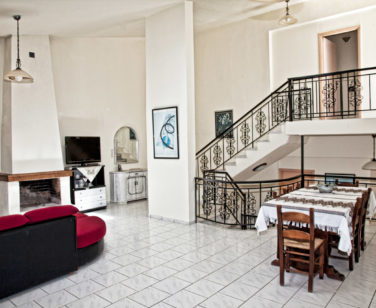 Spacious Villa in Crete Bali - Villa Klados - Living Room 6a