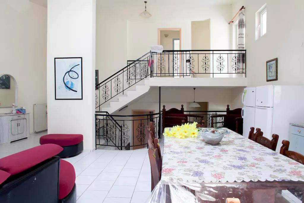 Spacious Villa in Crete Bali - Villa Klados - Living Room 7